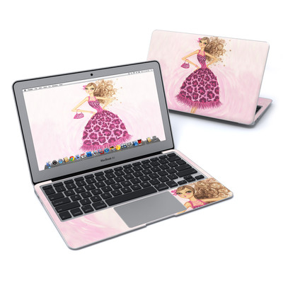 MacBook Air 11in Skin - Perfectly Pink