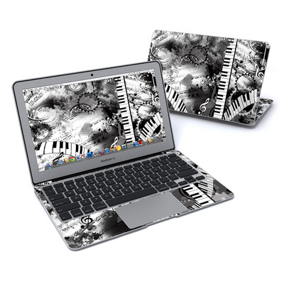 MacBook Air 11in Skin - Piano Pizazz