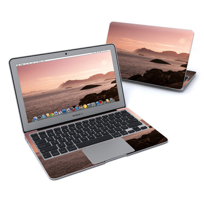 MacBook Air 11in Skin - Pink Sea