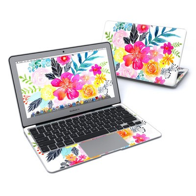 MacBook Air 11in Skin - Pink Bouquet