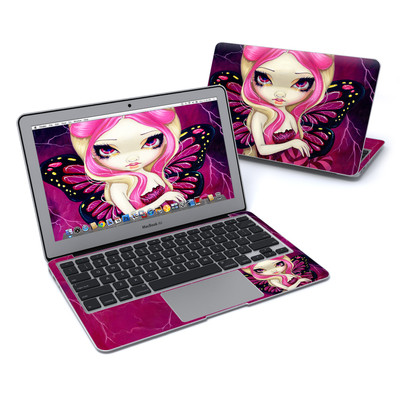 MacBook Air 11in Skin - Pink Lightning