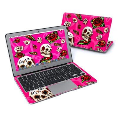MacBook Air 11in Skin - Pink Scatter