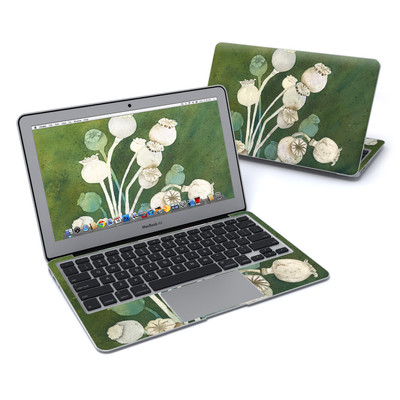 MacBook Air 11in Skin - Poppy Pods