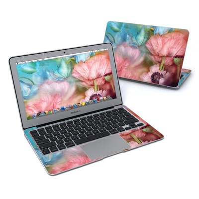 MacBook Air 11in Skin - Poppy Garden