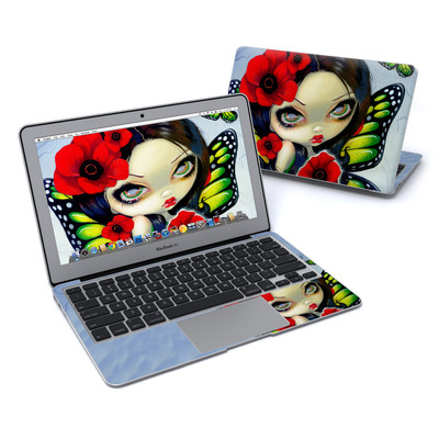 MacBook Air 11in Skin - Poppy Magic