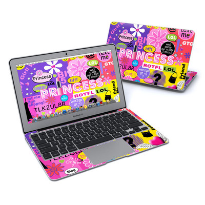 MacBook Air 11in Skin - Princess Text Me