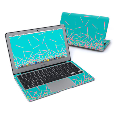 MacBook Air 11in Skin - Pop Rocks Wands