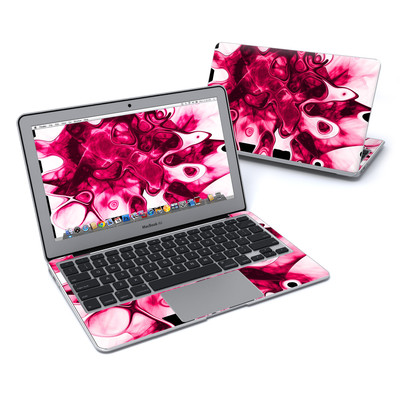 MacBook Air 11in Skin - Pink Splatter