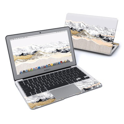 MacBook Air 11in Skin - Pastel Mountains
