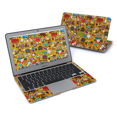 MacBook Air 11in Skin - Psychedelic