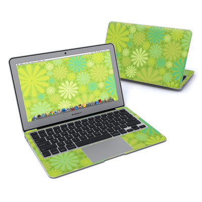 MacBook Air 11in Skin - Lime Punch