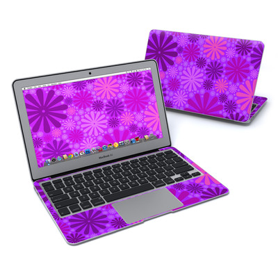 MacBook Air 11in Skin - Purple Punch