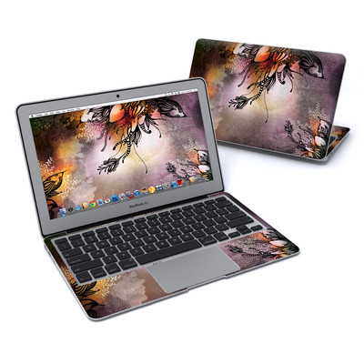 MacBook Air 11in Skin - Purple Rain