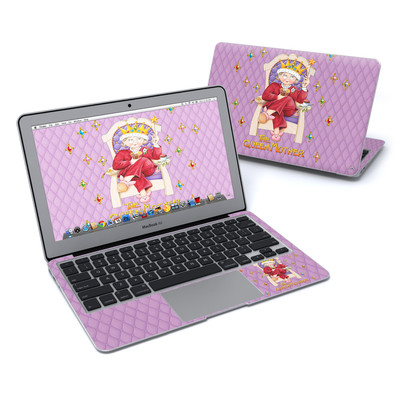 MacBook Air 11in Skin - Queen Mother