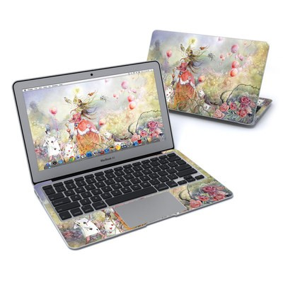 MacBook Air 11in Skin - Queen of Hearts