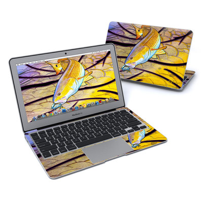 MacBook Air 11in Skin - Red Fish