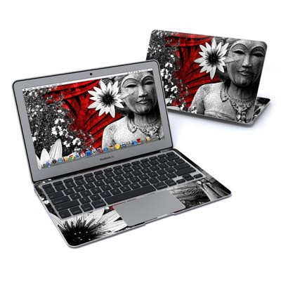 MacBook Air 11in Skin - Red Island Radiance