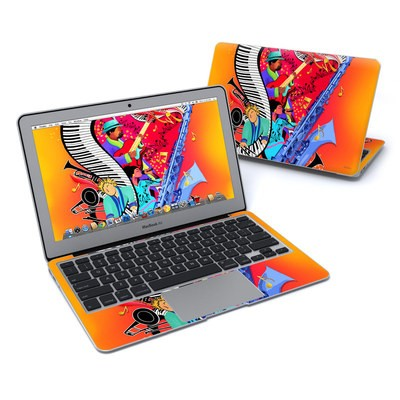 MacBook Air 11in Skin - Red Hot Jazz
