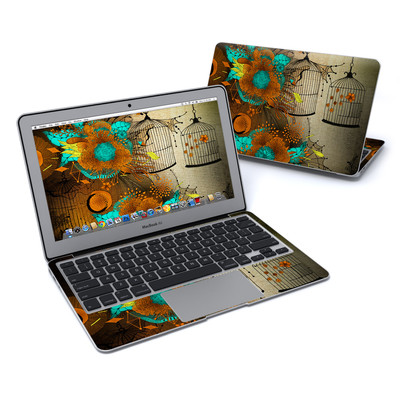 MacBook Air 11in Skin - Rusty Lace