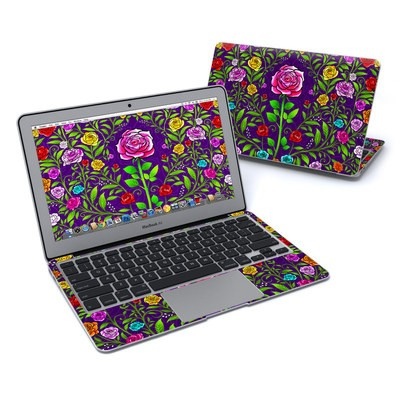 MacBook Air 11in Skin - Rose Burst