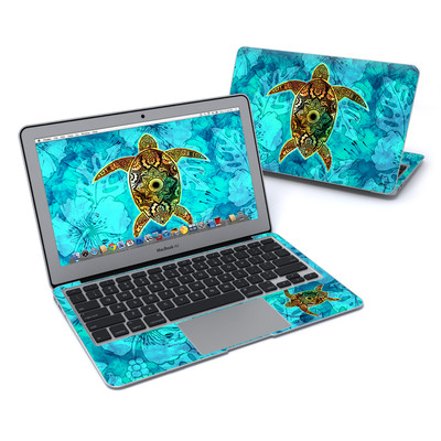 MacBook Air 11in Skin - Sacred Honu