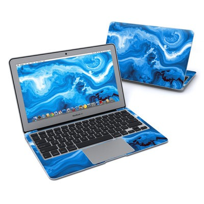 MacBook Air 11in Skin - Sapphire Agate