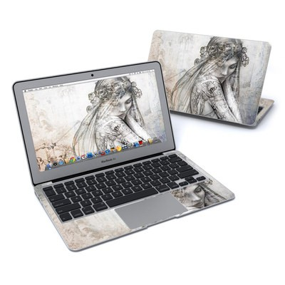 MacBook Air 11in Skin - Scythe Bride