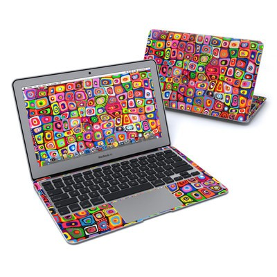 MacBook Air 11in Skin - Square Dancing