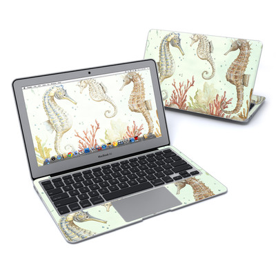 MacBook Air 11in Skin - Seahorse Trio