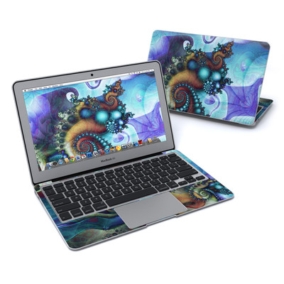 MacBook Air 11in Skin - Sea Jewel