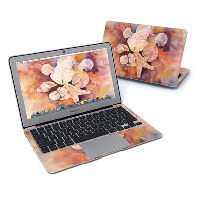 MacBook Air 11in Skin - Sea Shells