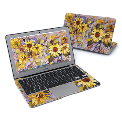 MacBook Air 11in Skin - Sunflower