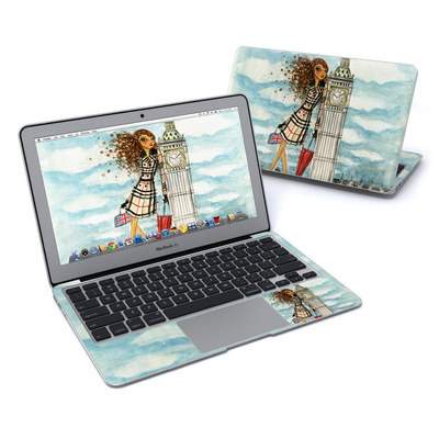 MacBook Air 11in Skin - The Sights London