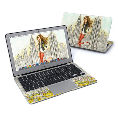 MacBook Air 11in Skin - The Sights New York