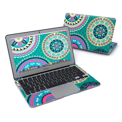 MacBook Air 11in Skin - Silk Road