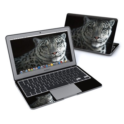 MacBook Air 11in Skin - Silver Shadows