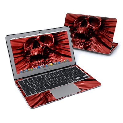 MacBook Air 11in Skin - Skull Blood
