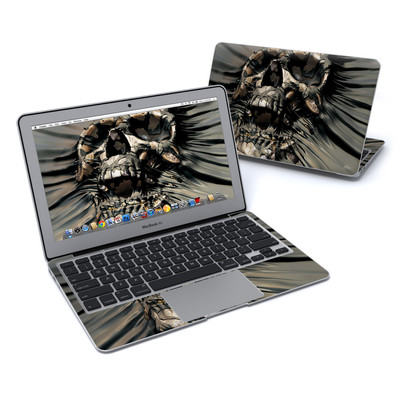 MacBook Air 11in Skin - Skull Wrap