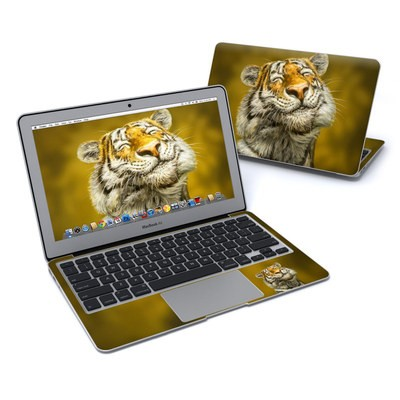 MacBook Air 11in Skin - Smiling Tiger