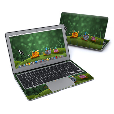 MacBook Air 11in Skin - Snail Race