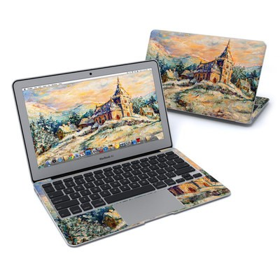 MacBook Air 11in Skin - Snow Landscape