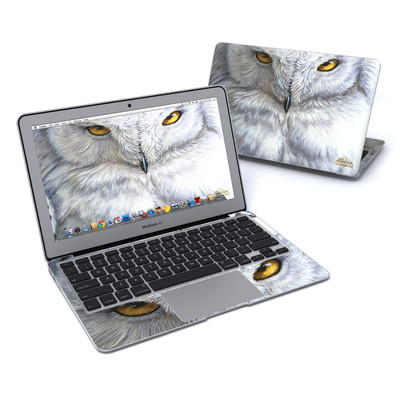 MacBook Air 11in Skin - Snowy Owl