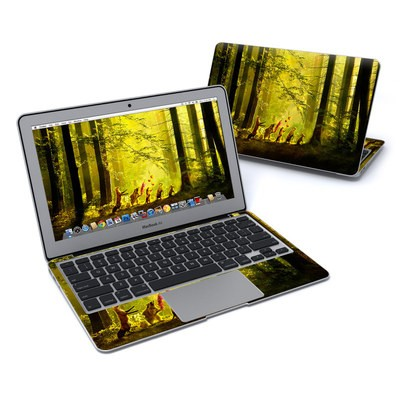 MacBook Air 11in Skin - Secret Parade