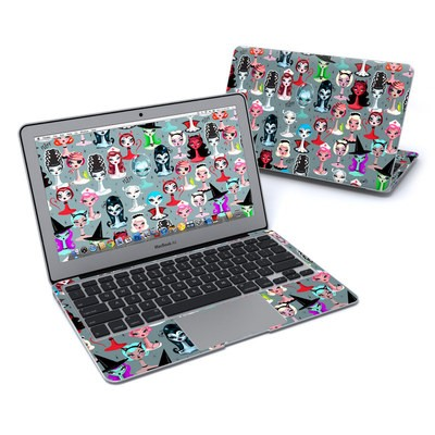 MacBook Air 11in Skin - Spooky Dolls