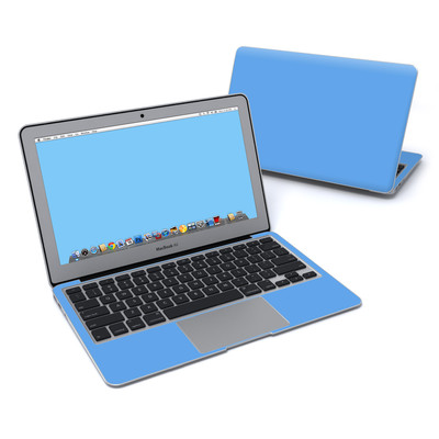 MacBook Air 11in Skin - Solid State Blue