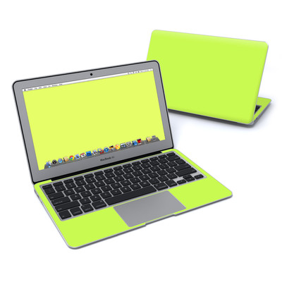MacBook Air 11in Skin - Solid State Lime