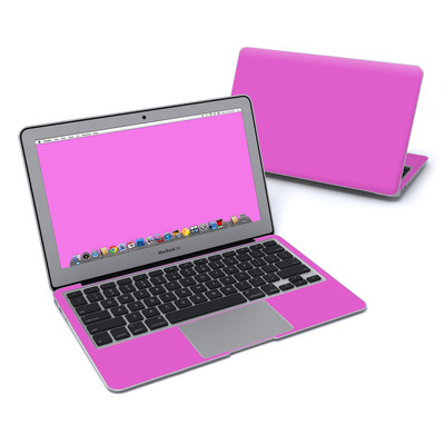 MacBook Air 11in Skin - Solid State Vibrant Pink