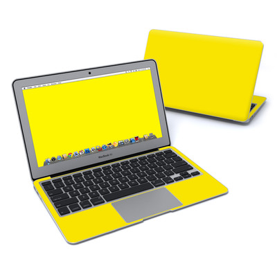 MacBook Air 11in Skin - Solid State Yellow