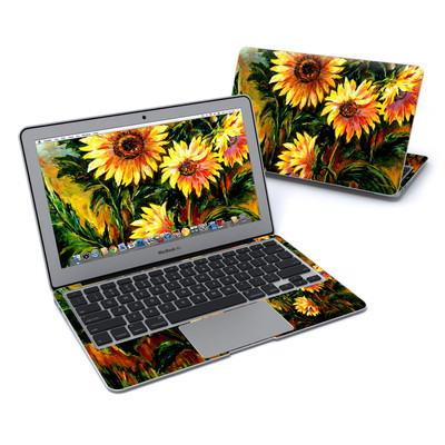 MacBook Air 11in Skin - Sunflower Sunshine