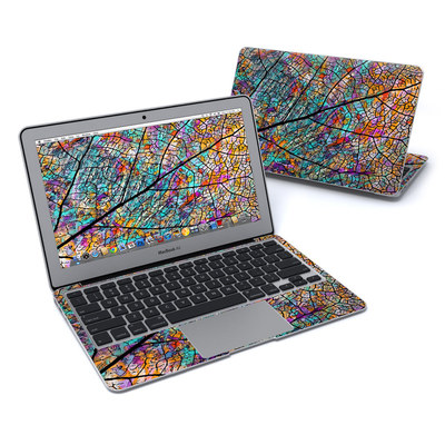 MacBook Air 11in Skin - Stained Aspen